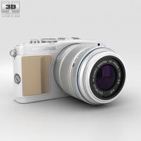Olympus PEN E-PL5 White 3D Model