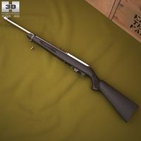 Ruger 10/22 Takedown 3D Model