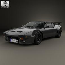 De Tomaso Pantera GT5-S 1984 3D Model