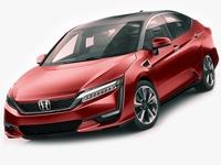 Honda Clarity Fuel Cell 2017 3D Model