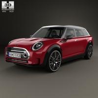 Mini Clubman Concept 2015 3D Model