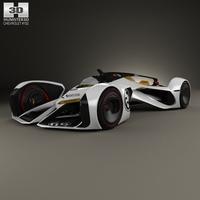 Chevrolet Chaparral 2X Vision Gran Turismo 2014 3D Model