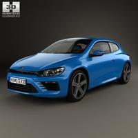 Volkswagen Scirocco R 2015 3D Model