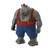 Rhino game character 3D Model