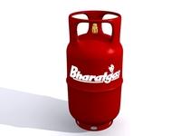 Cylinder Gas 3D 3D Model