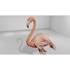 Flamingo Animated 3D Model