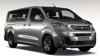 Peugeot Traveller L3 2017 3D Model