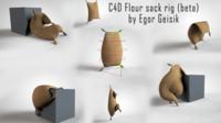 Free Flour sack for C4D (beta) 3D Model