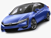 Honda Clarity Hybrid 2018 3D Model