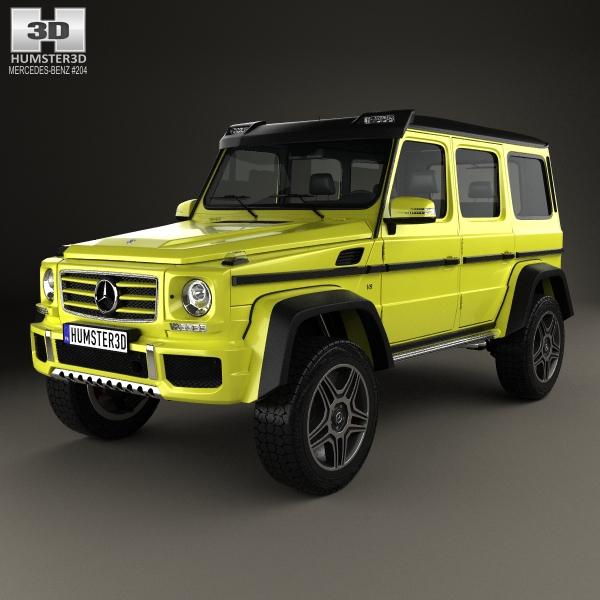 MercedesBenz GClass 442 2015 3D Model