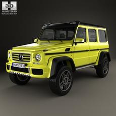 Mercedes-Benz G-Class 4×4-2 2015 3D Model