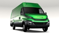 Iveco Daily L4H2 2017 3D Model