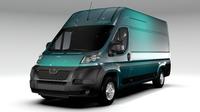 Peugeot Boxer Van L4H3 2006-2015 3D Model