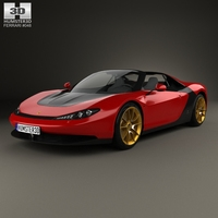 Ferrari Sergio 2014 3D Model