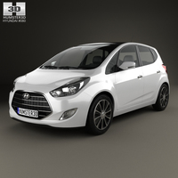 Hyundai ix20 2015 3D Model