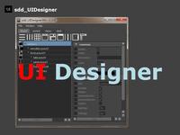Free sdd_UIDesigner for Maya 1.1.0 (maya script)