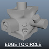 Edge to Circle for Maya 2.0.0 (maya script)