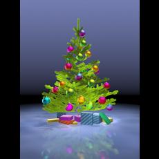 Christmas tree. 3D Model