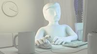 mr Simpleman 3D Model