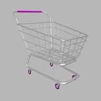 Shopping Cart. 3D Model