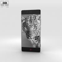 ZTE Nubia Z9 Black 3D Model