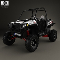 Polaris RZR XP 900 2011 3D Model