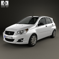 Suzuki Swift Plus 2008 3D Model
