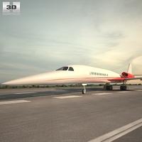 Aerion AS2 3D Model