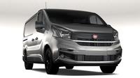 Fiat Talento Van L1 2017 3D Model