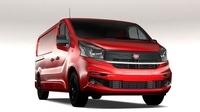 Fiat Talento Van L2 2017 3D Model