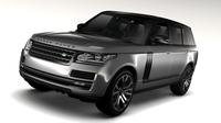 Range Rover SVAutobiography Dynamic LWB 2017 3D Model