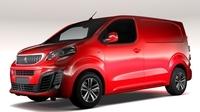 Peugeot Expert L1 2017 3D Model