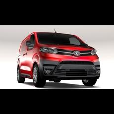 Toyota ProAce Van L1 2017 3D Model