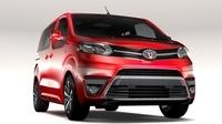 Toyota ProAce Verso L1 2017 3D Model