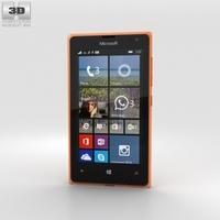 Microsoft Lumia 532 Orange 3D Model