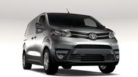 Toyota ProAce Van L2 2017 3D Model