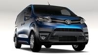 Toyota ProAce Van L3 2017 3D Model