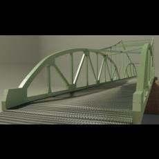Steel bridge 3D Model