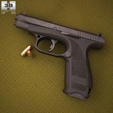 GSh-18 3D Model