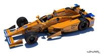 Indycar Alonso 2017 model 3D Model
