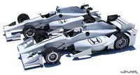 3D Indycar Honda 2016-2017 model 3D Model