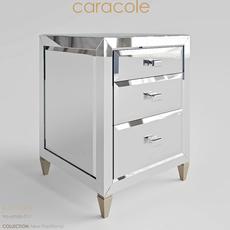 A Little Gem Caracole TraditionalTRA-SIDTAB-011 3D Model
