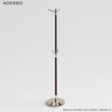 Adesso Neptune Coat Rack (Corona Render) 3D Model