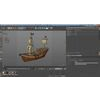 04 22 35 344 low poly cartoon pirate ship textured 3d model low poly max obj 3ds fbx c4d 4
