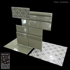 Adex relieve Gables Eucalyptus 3D Model