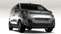 Citroen Jumpy L2 2017 3D Model