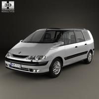 Renault Espace 1996 3D Model