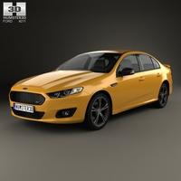 Ford Falcon (FG) XR8 2015 3D Model