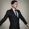 05 51 02 935 realistic handsome suit man 12 4