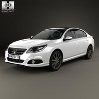 Renault Latitude 2013 3D Model